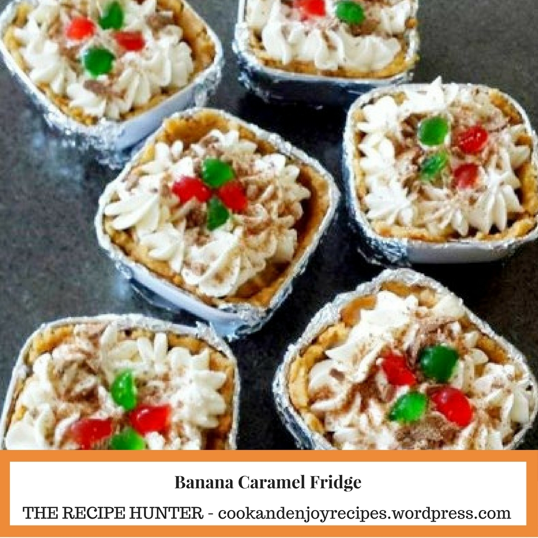 Banana Caramel Fridge