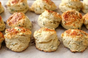 Cheese, Chive and Mascarpone Scones