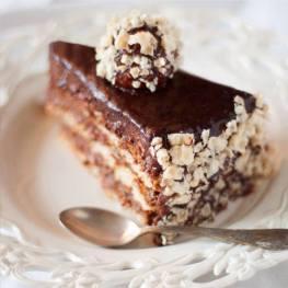Ferrero Rocher cake (gluten-free!)