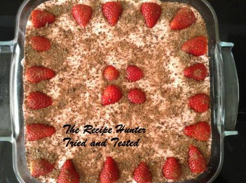 TRH  Berry Yoghurt Fridge Tart