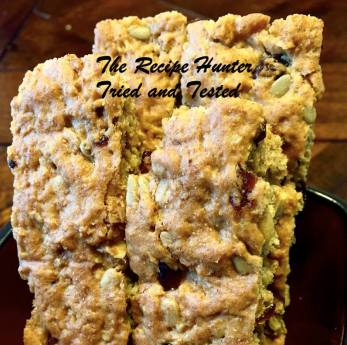 TRH T&T Whole Wheat Rusks with Mixed Dried Fruits