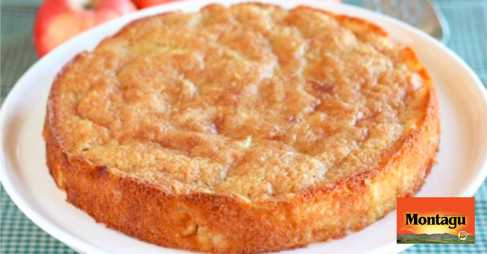 APPLE CAKE WITH DRIED APPLE WEDGES