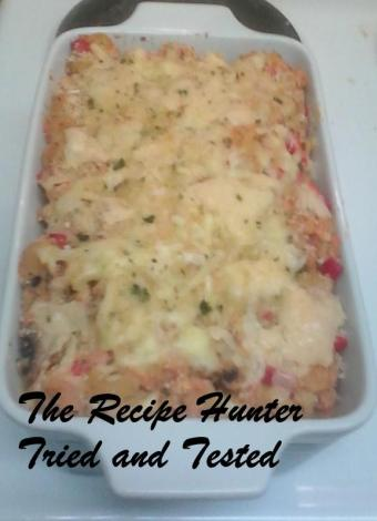 RHC Salmon Pasta bake