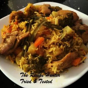 TRH Biryani Recipe Vegetarian or Chicken or Meat2