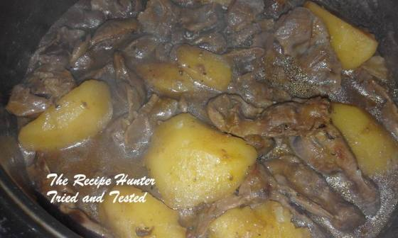 TRH Colleen's Giblet Brown Stew