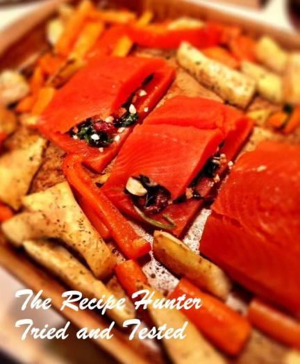 TRH Mona's Stuffed Salmon