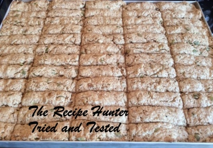 TRH Es's Vegan Wholewheat Rusks