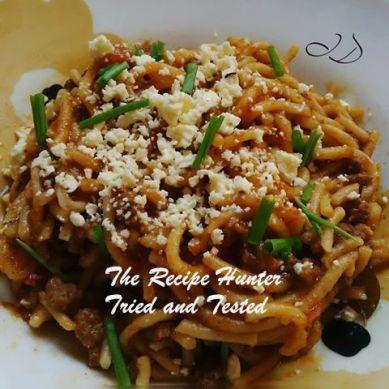 TRH Irene's Spaghetti Bolognese