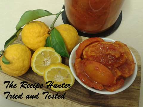 TRH Mani's Sweet and Sour Lemon Pickle