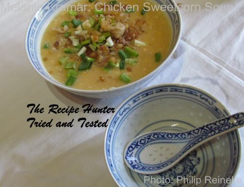 TRH Melanie's Chinese Chicken Sweet corn soup
