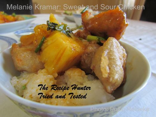 TRH Melanie's Sweet and Sour Chicken