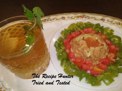 TRH Moumita's Low Calorie Power Lunch With Homemade Digestive Drink