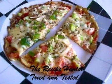 TRH Nazley's Pizza egg omlete