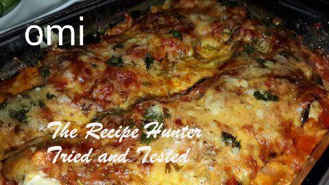 TRH Omi's Baked Brinjal in a tomato chutney (sauce)1