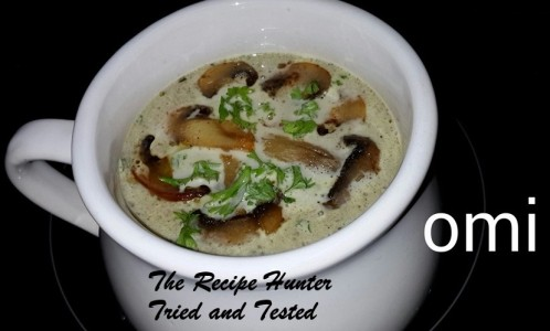 TRH Omi's Mushroom Soup
