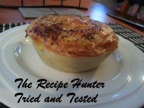 TRH Cathy's famous pepper steak pie