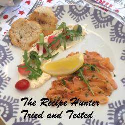 TRH Gail's Cured Salmon (Gravadlax)