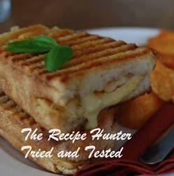 TRH Haniki & Pieter's Grilled sandwich