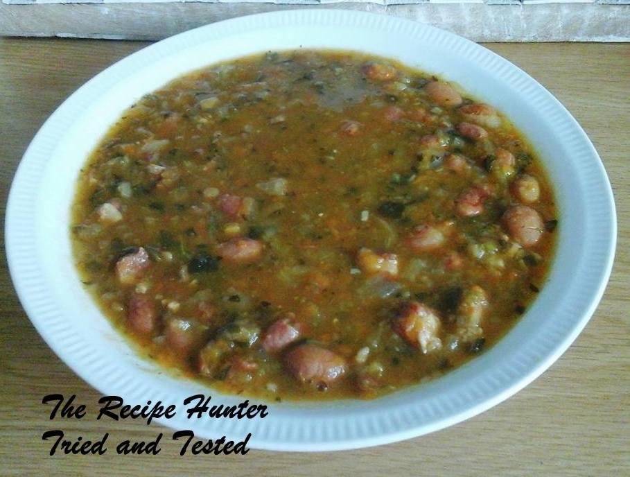 TRH Priscilla's Hearty Bean and Smoky Pork Soup