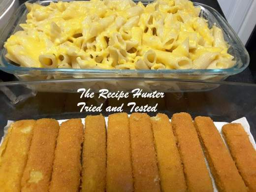 TRH Zarina's Pasta and fish fingers