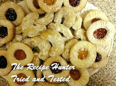 TRH Gail's Linzer cookies