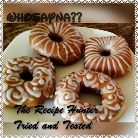 TRH Husseina's Coffee Frosting Donuts