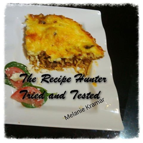 TRH Melanie's Spaghetti Bolognese Bake