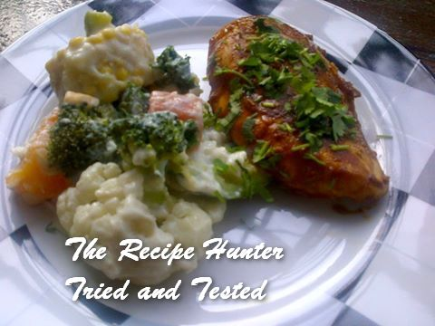 TRH Nazley's Tangy Honey Pan seared Chicken