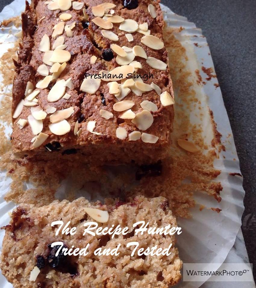 TRH Preshana's Buttermilk Fruit Loaf2