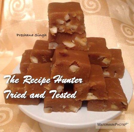 TRH Preshana's Caramel Nut Fudge