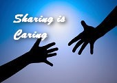sharing-is-caring-helping-hand