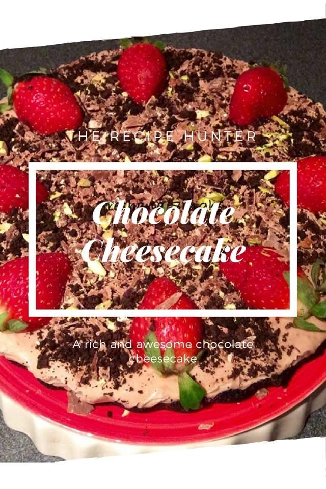 Chocolate Cheesecake