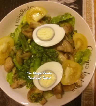 trh-seans-spring-salad-served-warm-with-basil-chimichurri-and-boiled-eggs-hard-or-soft