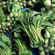 Green leavy vegetables
