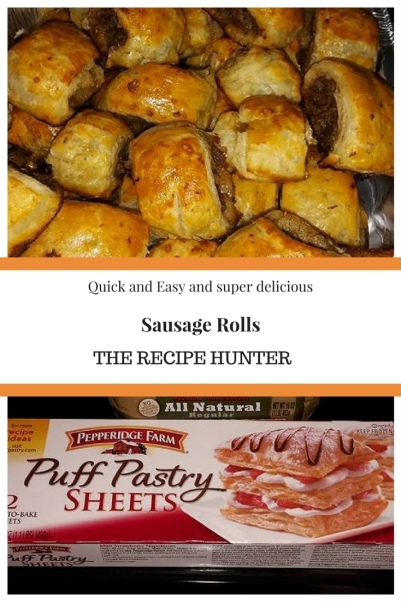 My sausage rolls