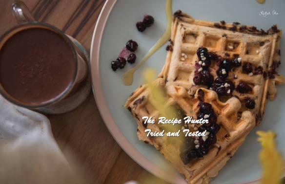 TRH Carla's Choc chip Blueberry Vegan Waffles.jpg