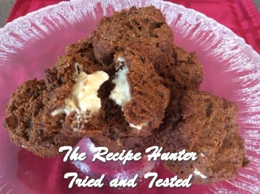 TRH Es's Gluten-Free Carrot Cupcakes with Creamcheese filling 2