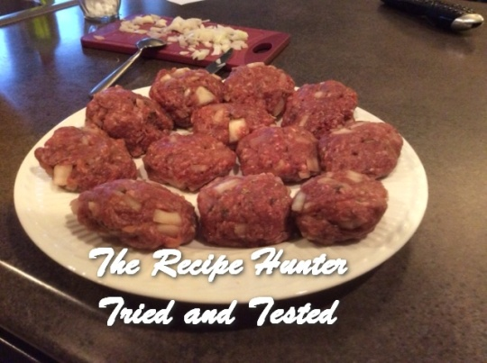 TRH Es's meatballs
