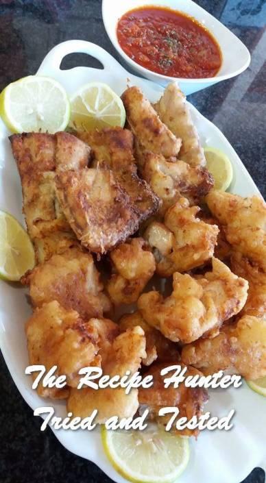 TRH Fish, Chicken or Onion Batter