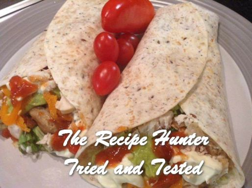 TRH Gail's Chicken Wraps