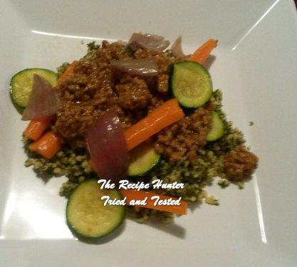 TRH Hilda's Spiced Lamb with Tabouli