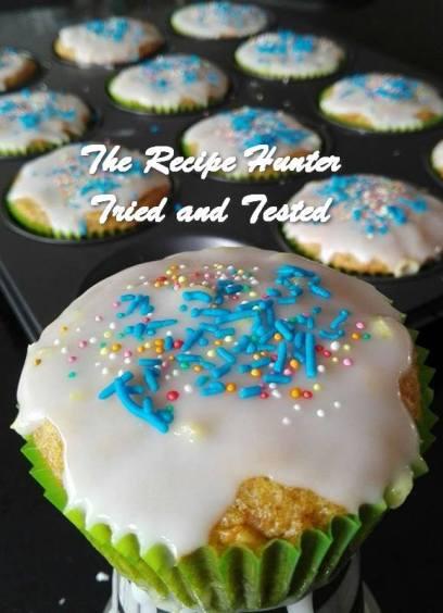 TRH Irene's Carrot Cupcakes