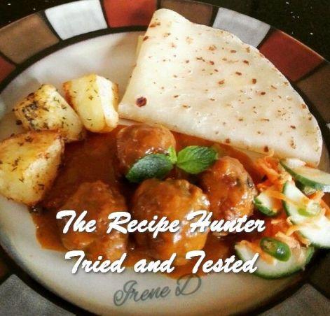 TRH Irene's Mince Kebabs Chutney
