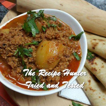 TRH Jameela's Kashmiri tandoori mince curry