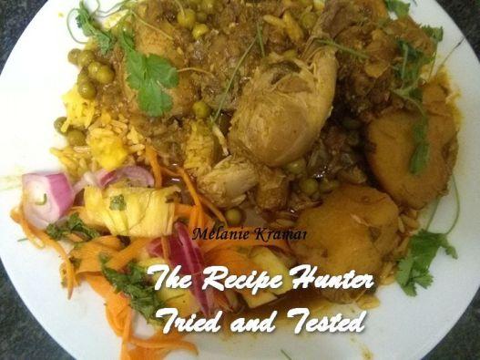 TRH Melanie's Chicken Curry with Peas