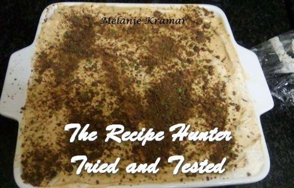 TRH Melanie's Double Layer Peppermint Crisp Tart
