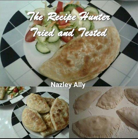 TRH Nazley's Half Moon Shaped Roti Paratha's