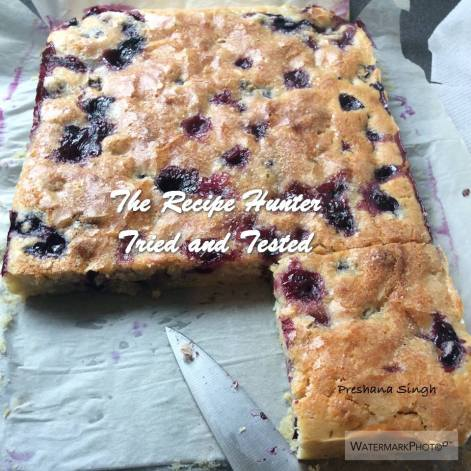 TRH Preshana's Buttermilk Blueberry Breakfast Bake