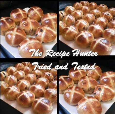 TRH Reshika's ‎Hot Cross Easter Buns