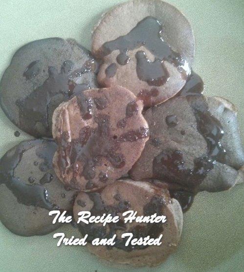 TRH Sean's Vanilla bean Keto 'chocolate' crumpets